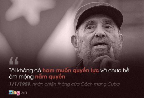 Fidel Castro: 'Trai tim toi lam bang thep' - Anh 2