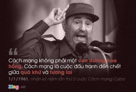 Fidel Castro: 'Trai tim toi lam bang thep' - Anh 3