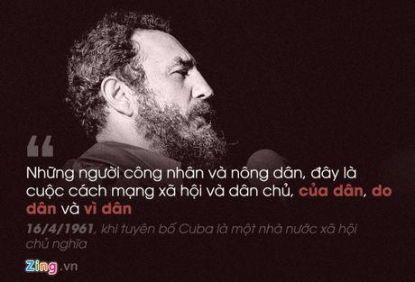 Fidel Castro: 'Trai tim toi lam bang thep' - Anh 4