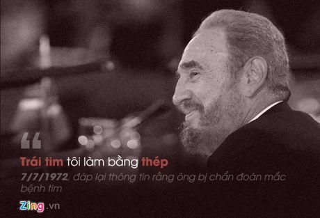 Fidel Castro: 'Trai tim toi lam bang thep' - Anh 6