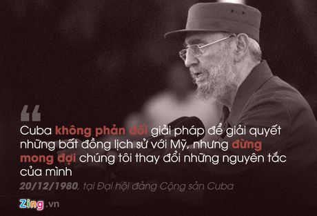 Fidel Castro: 'Trai tim toi lam bang thep' - Anh 7
