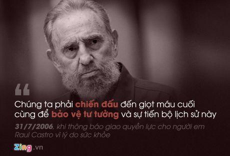 Fidel Castro: 'Trai tim toi lam bang thep' - Anh 9