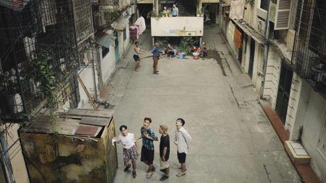 'Su tu Ha Dong' Diem Huong dong clip ve chung cu cu o Ha Noi - Anh 1