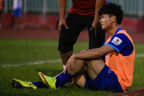 Cong Phuong, Cong Vinh tap dut diem truoc tran ban ket - Anh 3