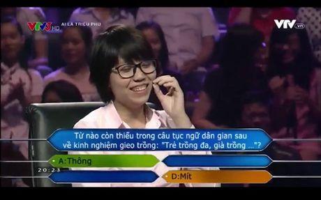 Du lieu dua ra cua chuong trinh 'Ai la trieu phu' co chinh xac la tuc ngu hay khong? - Anh 2