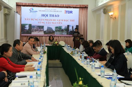 Hoi thao xay dung san pham du lich dac thu vung Tay Nguyen - Anh 1