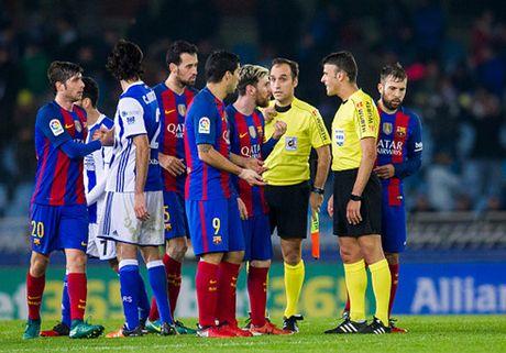Messi ghi ban, Barca van chua the pha dop truoc Sociedad - Anh 1