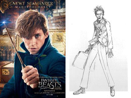 Thoi trang phu thuy trong the gioi phep thuat Fantastic Beasts - Anh 3