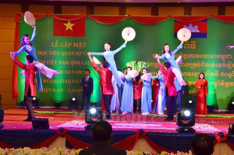 Am ap le gap mat cuu hoc vien quan su Campuchia tai Viet Nam - Anh 3