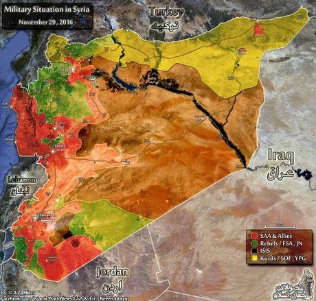 Cat doi thanh tri Aleppo: Nam tien ep hang - Anh 1