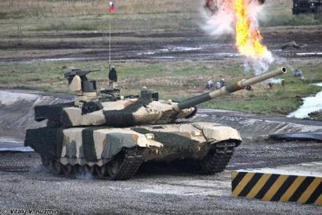 Kha nang cong/thu toan dien cua ban T-90 Viet Nam muon mua - Anh 1