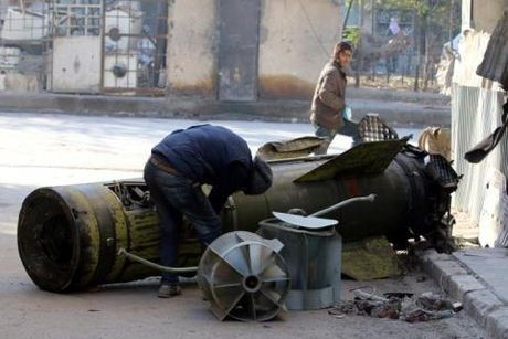 Chien su Aleppo: Ten lua dan dao xung tran - Anh 1