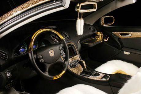 Loa mat Mercedes-Benz SL 600 kim cuong gia 109 ty dong - Anh 10