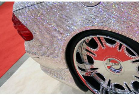 Loa mat Mercedes-Benz SL 600 kim cuong gia 109 ty dong - Anh 7