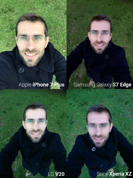 Do camera selfie giua 'bo tu' smartphone sieu dang - Anh 1