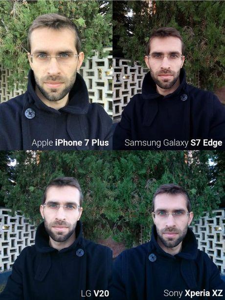 Do camera selfie giua 'bo tu' smartphone sieu dang - Anh 2