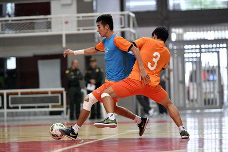 DT Futsal Viet Nam du giai quoc te tai Trung Quoc - Anh 1