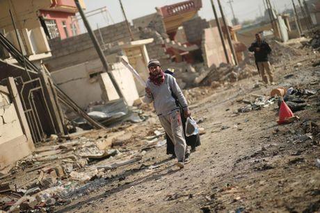 Chien su Mosul giua vung do thi qua anh - Anh 12