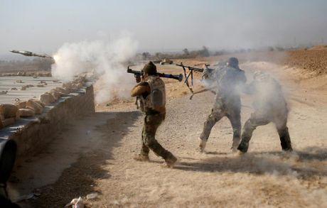 Chien su Mosul giua vung do thi qua anh - Anh 8