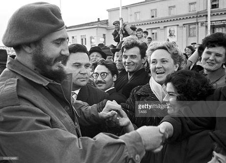 Anh lich su it biet ve lanh tu Cuba Fidel Castro (1) - Anh 13