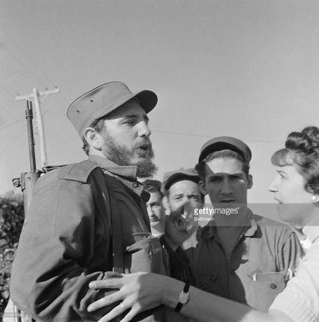 Anh lich su it biet ve lanh tu Cuba Fidel Castro (1) - Anh 2