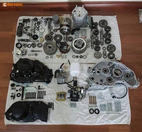 Moto Honda LS125R 'dap thung' gia 230 trieu tai HN - Anh 13