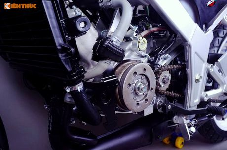 Moto Honda LS125R 'dap thung' gia 230 trieu tai HN - Anh 14