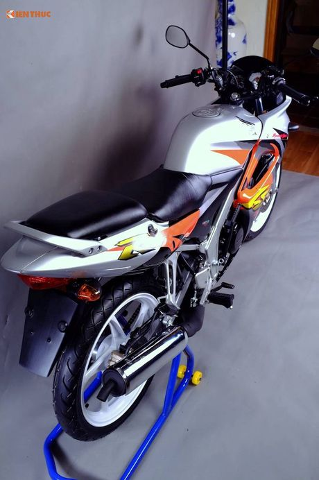 Moto Honda LS125R 'dap thung' gia 230 trieu tai HN - Anh 16