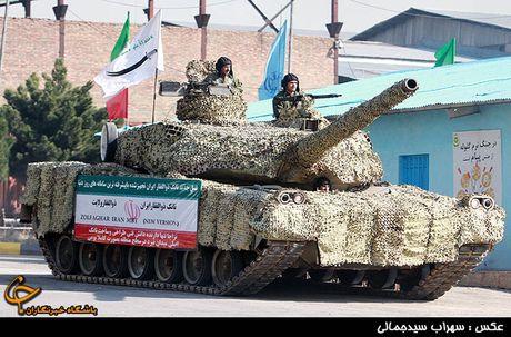 Tiet lo bat ngo suc manh xe tang Karrar cua Iran - Anh 1