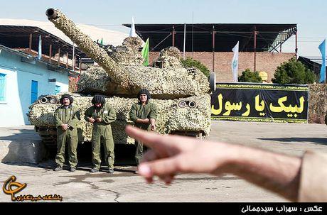 Tiet lo bat ngo suc manh xe tang Karrar cua Iran - Anh 2
