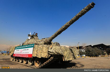 Tiet lo bat ngo suc manh xe tang Karrar cua Iran - Anh 8