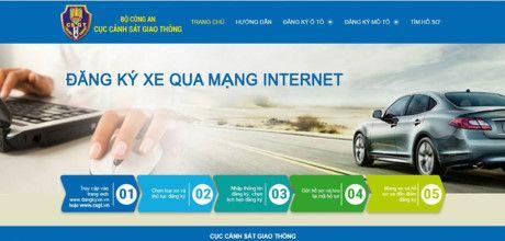Thi diem dang ky xe o to qua mang internet tai Ha Noi va TPHCM - Anh 2