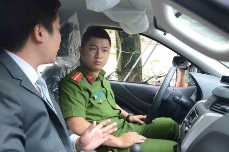 Cong an phuong xa o Da Nang co o to chuyen dung - Anh 2