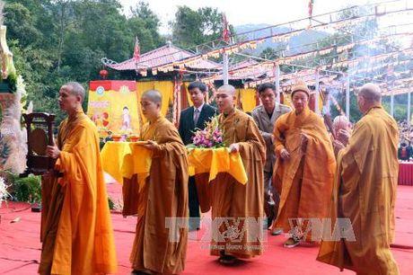 Tuong niem 708 nam Phat hoang Tran Nhan Tong nhap niet ban - Anh 1
