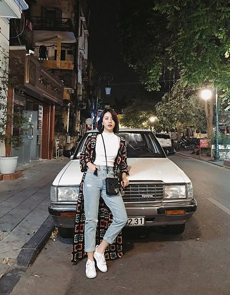Cach chup anh street style trong bong toi dep nhu Quynh Anh Shyn - Anh 6