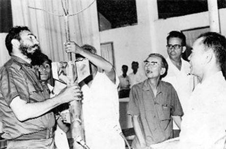 Nhung dau xua cua Chu tich Fidel Castro tren dat Quang Binh - Anh 3