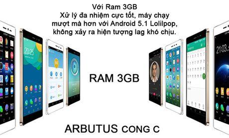 "Arbutus CONG C ram 3GB gay ""sot"" thi truong smartphone - Anh 3"