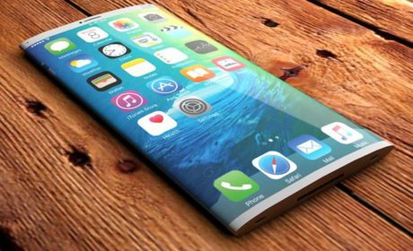 Apple co the ra mat iPhone 8 voi man hinh OLED uon cong - Anh 1