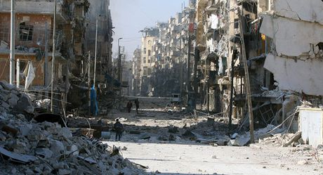 Quan doi Syria kiem soat hoan toan phan dong bac Aleppo - Anh 1
