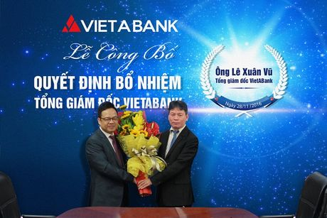 VietABank chinh thuc bo nhiem tan Tong giam doc - Anh 1
