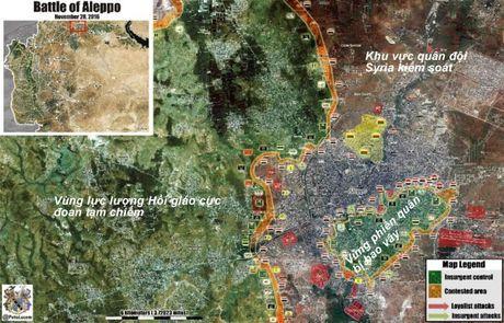Quan doi Syria thua thang tan cong phien quan co thu tai Aleppo (video) - Anh 1