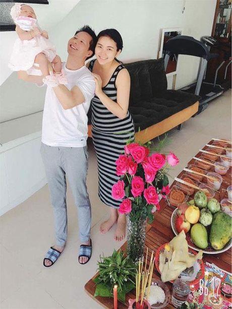 Phan Nhu Thao lan dau he lo hinh anh can mat cua be Bo Cau - Anh 1