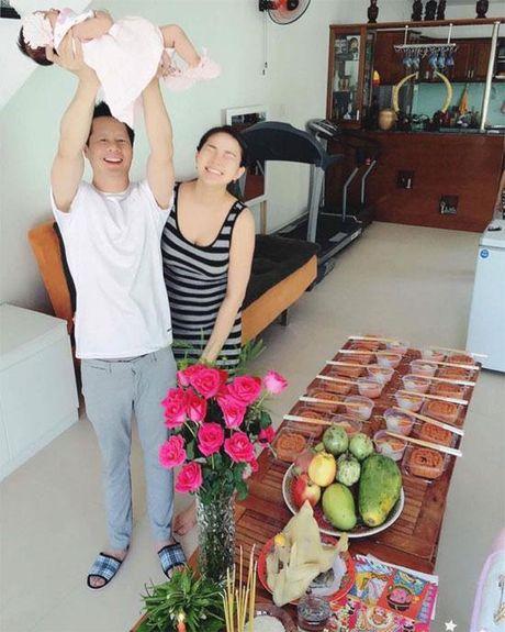 Phan Nhu Thao lan dau he lo hinh anh can mat cua be Bo Cau - Anh 2