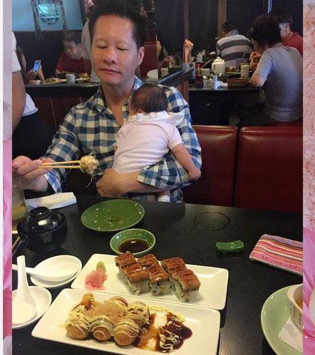 Phan Nhu Thao lan dau he lo hinh anh can mat cua be Bo Cau - Anh 9