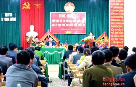Cu tri Tuong Duong: De nghi tang chi phi dich vu moi truong rung - Anh 3