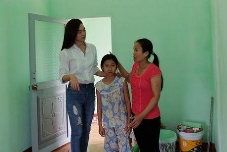 Ninh Duong Lan Ngoc gian di toi Quang Ngai tang nha cho nguoi dan ngheo - Anh 2