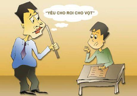 Day hoc khong don roi, hoc sinh moi nhu vay - Anh 1