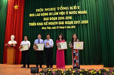 Dong Thap: 3 nam xuat khau gan 1.900 lao dong - Anh 3