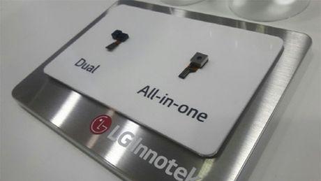 LG G6 se trang bi may quet mong mat, thanh toan di dong? - Anh 1
