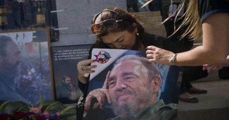 Cuba va the gioi cung tien biet Fidel Castro - Anh 1
